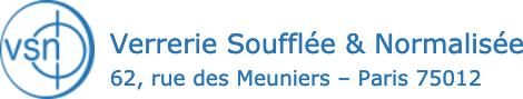 Verrerie Soufflée & Normalisée